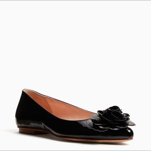 kate spade Shoes - Kate spade pointed black patent leather flat shoes